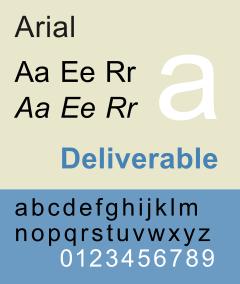 Arial или НедоГельветика