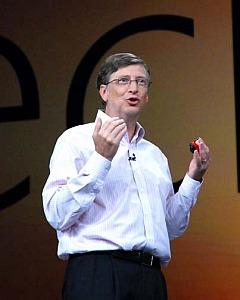 Билл Гейтс на TechEd 2008