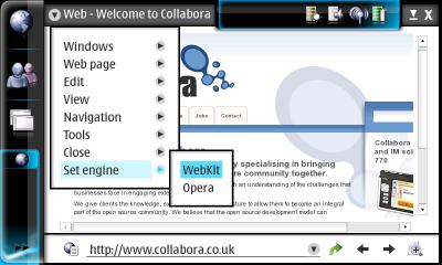 webkit engine maemo