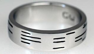 Обручальное кольцо для гиков