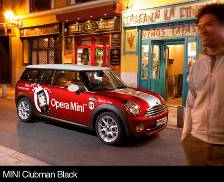 Opera Mini в Барселоне