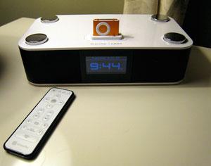 Luna iPod clock radio from the XtremeMac