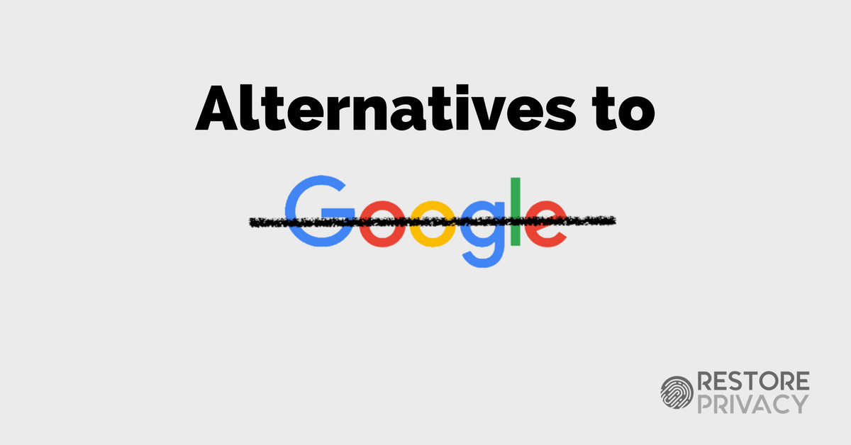 Альтернативы продуктам Google