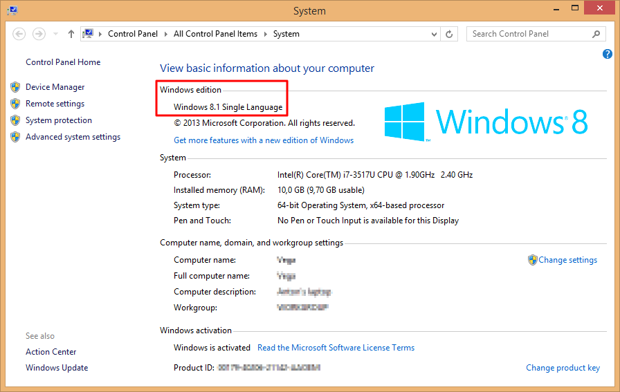 product key finder windows 8