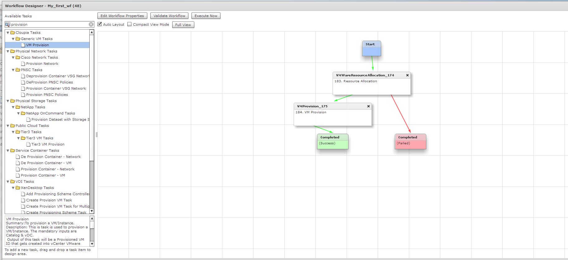 Связка таска с другими элементами Workflow