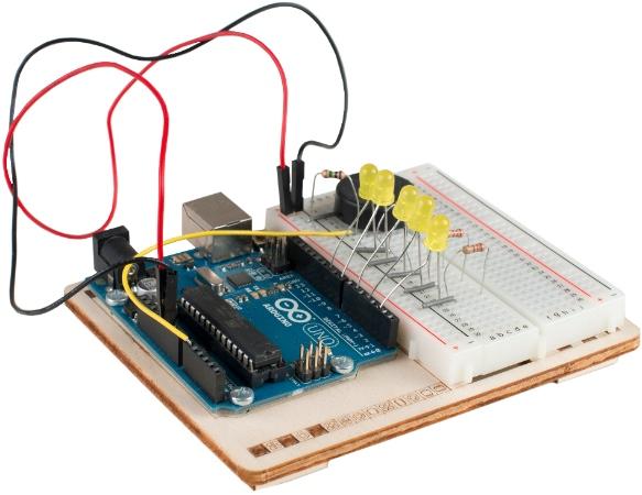 прототип электронного тортика на Arduino Uno