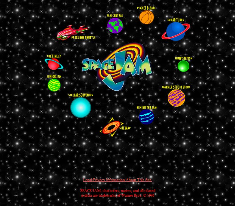'Space Jam' Forever — The Website That Wouldn't Die