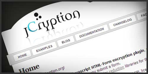 Encrypting HTML Form Data With jCryption