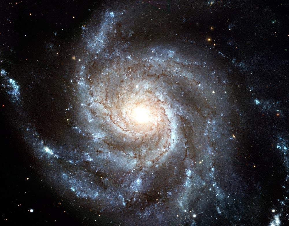 Млечный путь имеет форму спирали