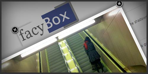 FacyBox – jQuery Based Facebook/FancyBox Style Lightbox