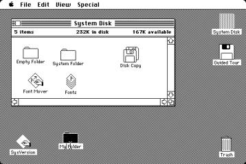 Первая версия Mac OS