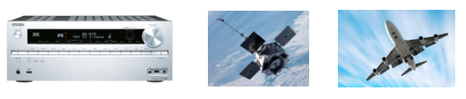 amplifier, satelitte, airplane