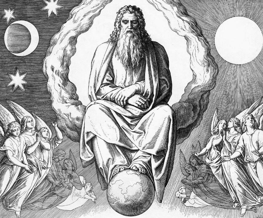 что мир созданный богом картинки для