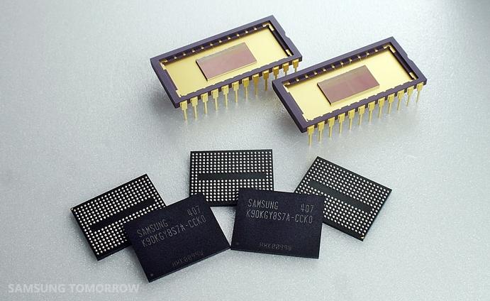 Samsung запускает производство первой в отрасли флеш-памяти 3D V-NAND, имею ...