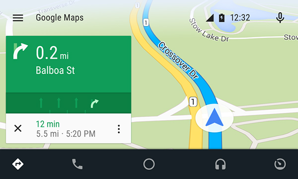 Запуск сервиса Google Auto в России