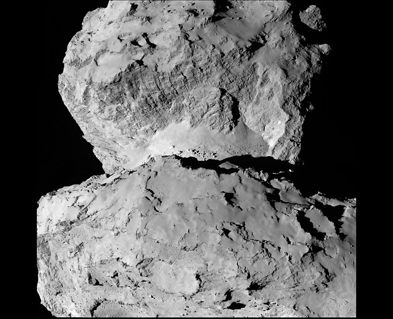 Новые изображения кометы Чурюмова-Герасименко