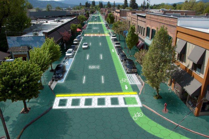 Solar Roadways - дороги-солнечные батареи