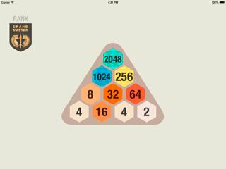 Еще один 2048, теперь треугольный