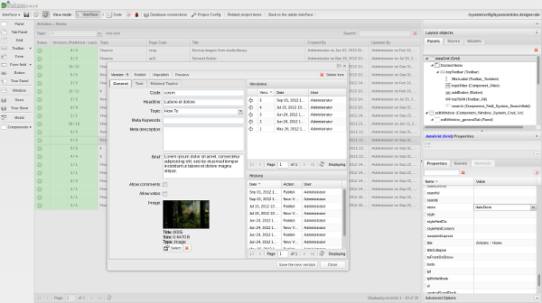 Пишем свою IDE со встроенным дизайнером интерфейсов на PHP и ExtJS