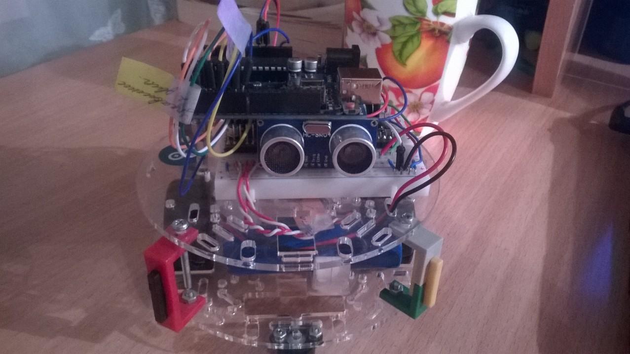 схема робота на mega8