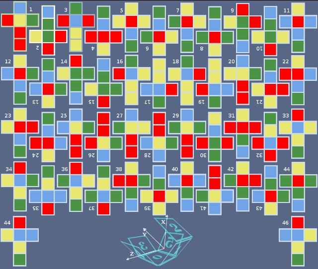 Набор 46 кубиков