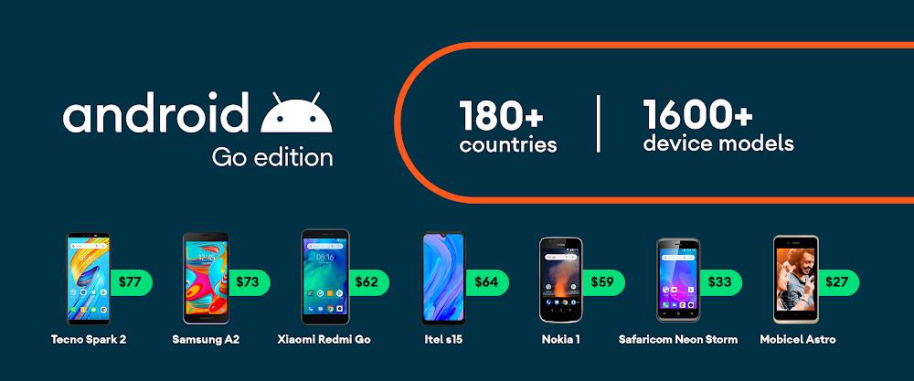 Google представила Android 10 (Go Edition) для бюджетных смартфонов