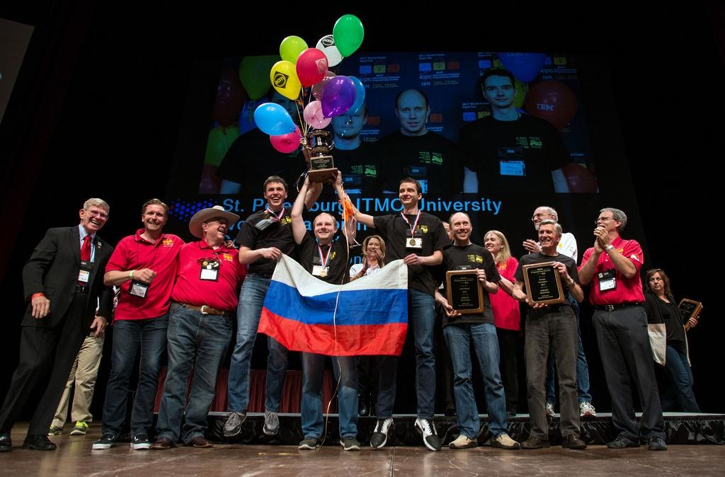 Финал чемпионата мира по спортивному программированию ACM ICPC: победитель  ...