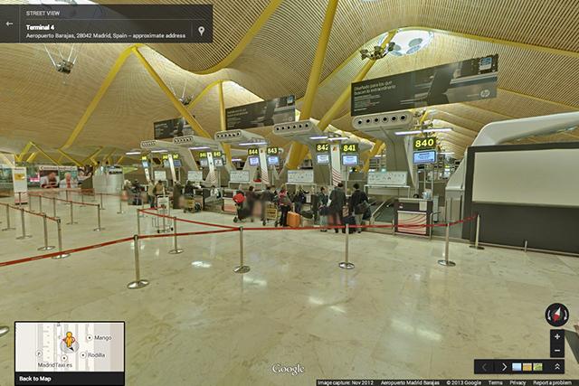 На Street View появилось около 65 аэропортов и ж/д вокзалов