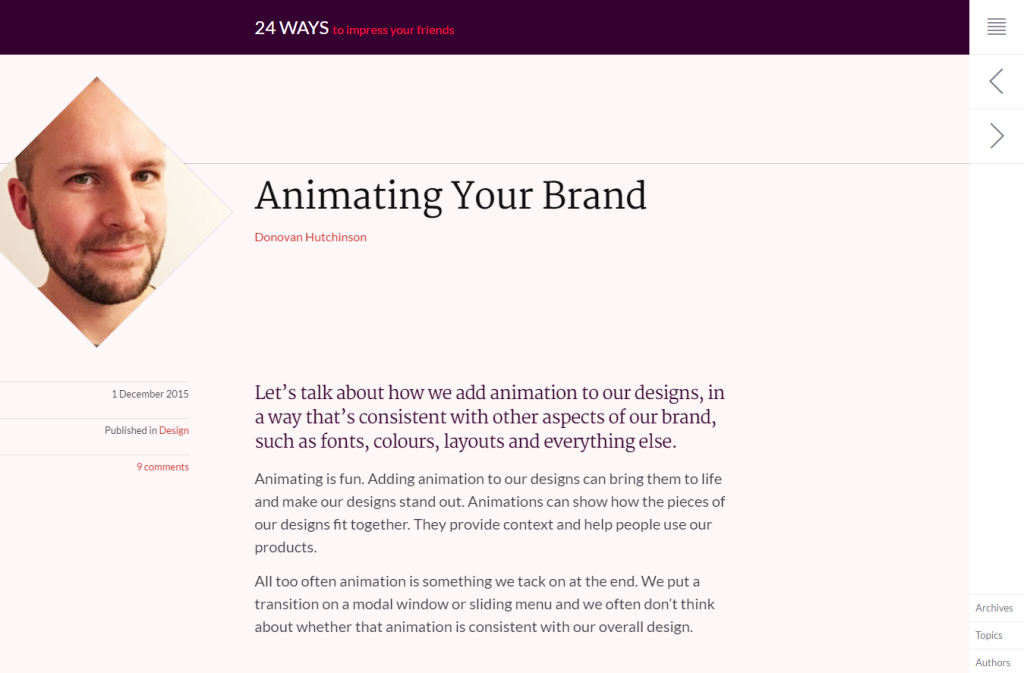 Animating Your Brand