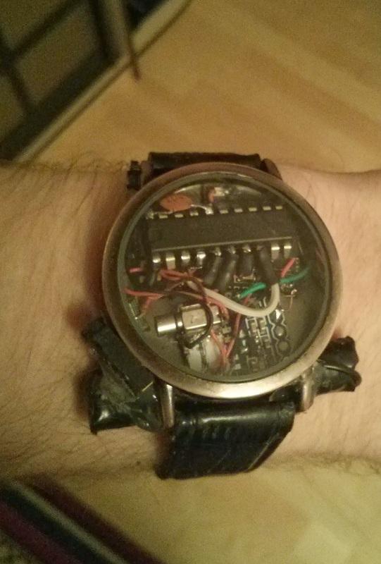 Умные часы своими руками за 1500 рублей / Geektimes 59