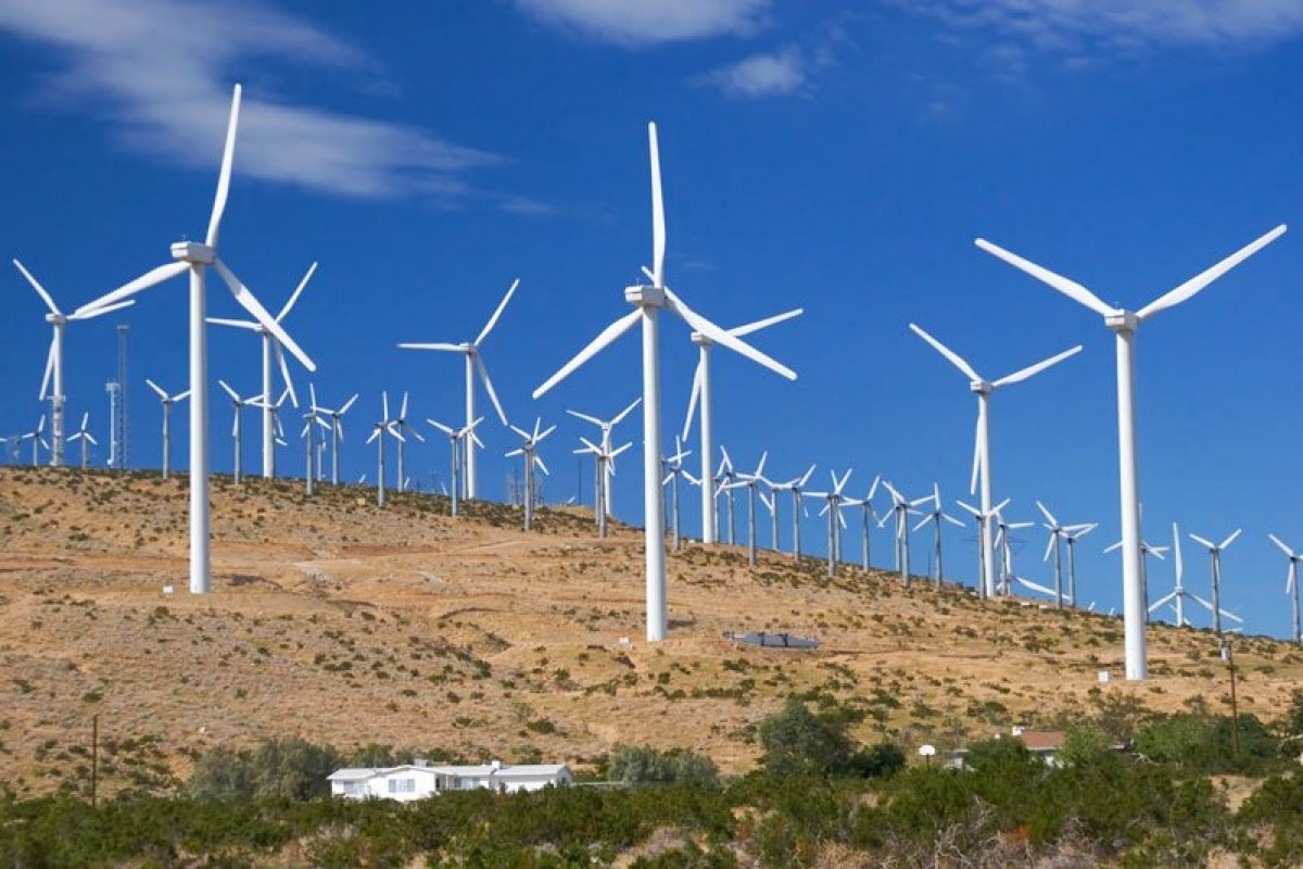 Study: large wind power stations can heat up the soil, which affects climate
