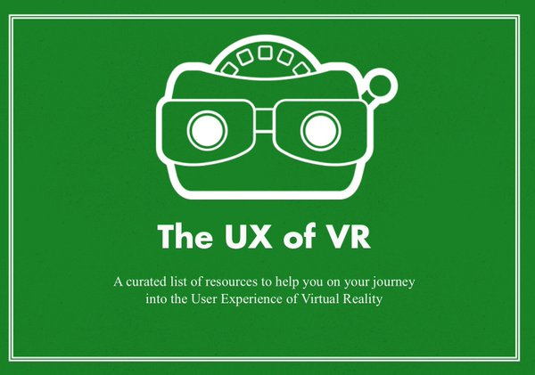 The User Experience of Virtual Reality