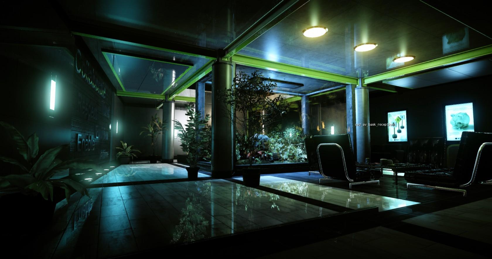 SSLR: Screen Space Local Reflections в AAA-играх
