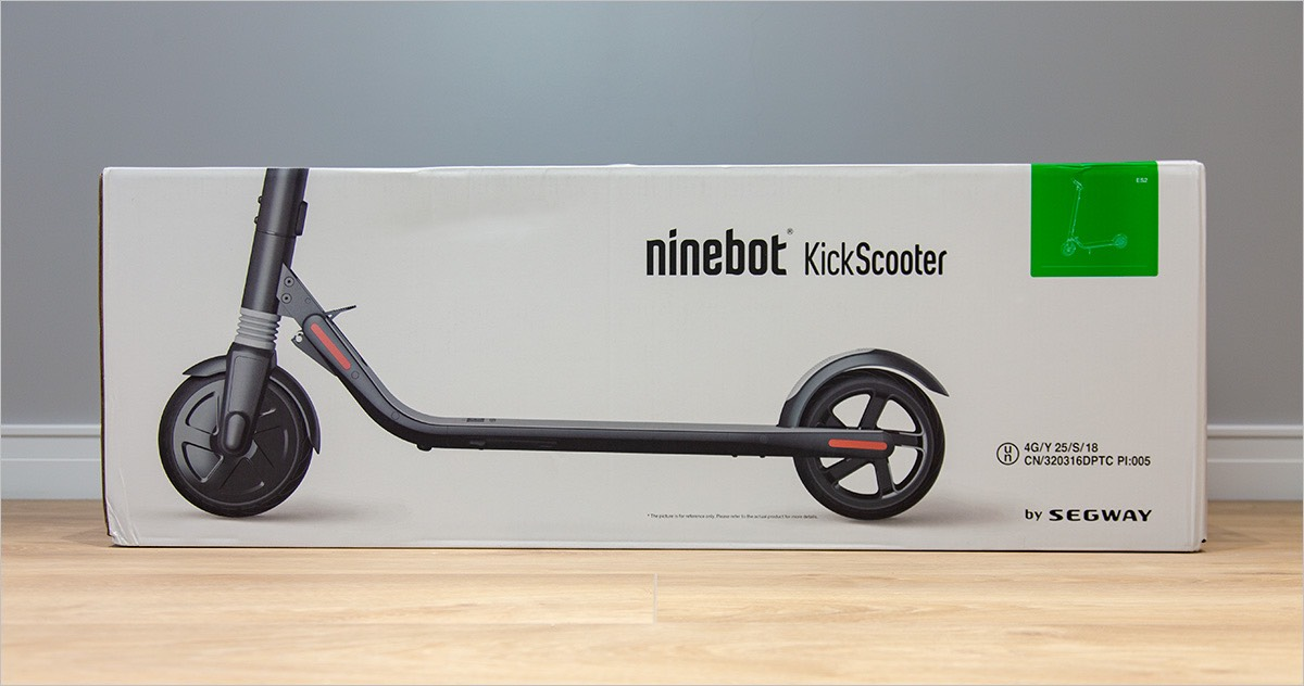 Rolls-Royce among scooters - Ninebot KickScooter ES4 by Segway