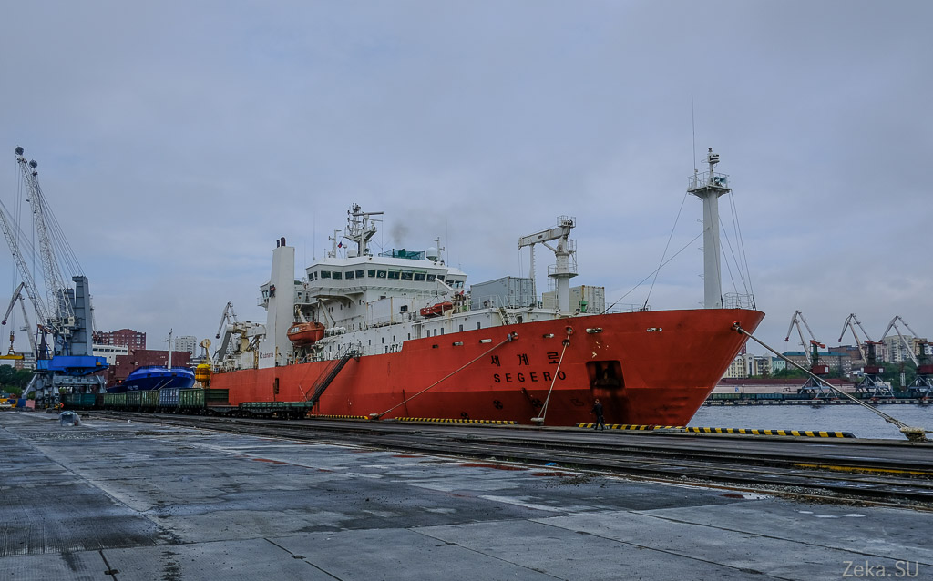 Строительство линии связи Сахалин – Курилы. Экскурсия на Segero — судно-кабелеукладчик