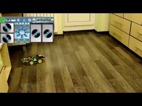 Робот-машина RoboCar4W