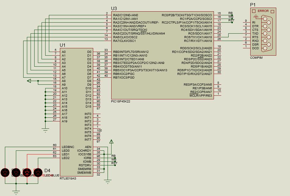 Proteus и два с половиной hello world для UART и USB на