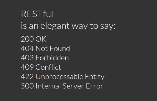 Обработка ошибок в RESTful приложениях