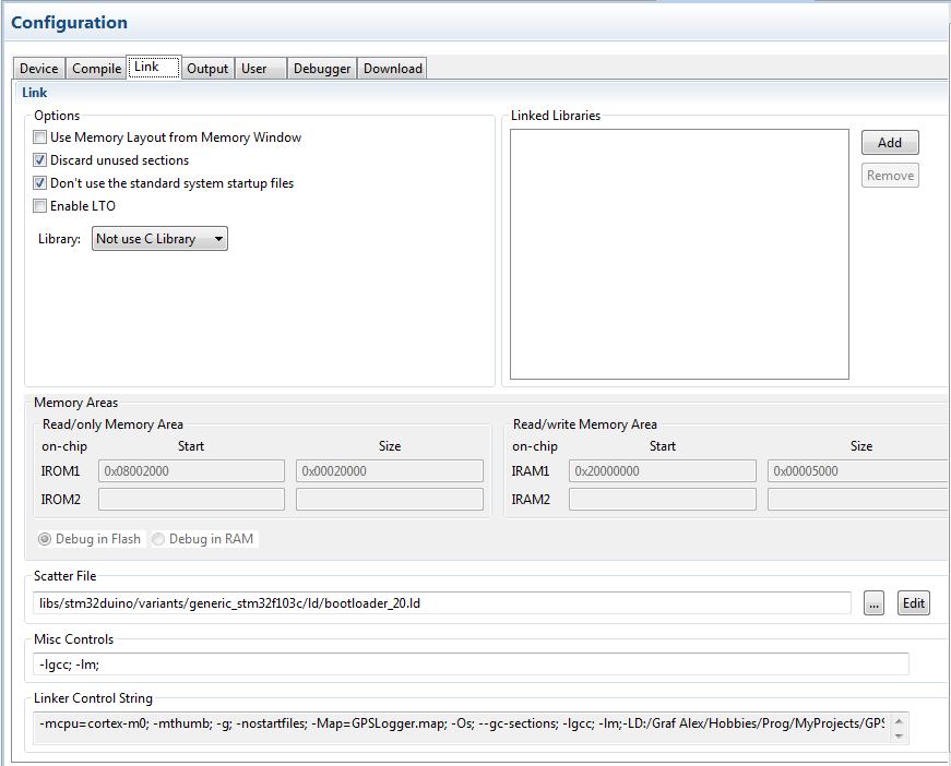 Билдим под stm32duino с помощью CMake (и отгребаем от линкера) / Хабр
