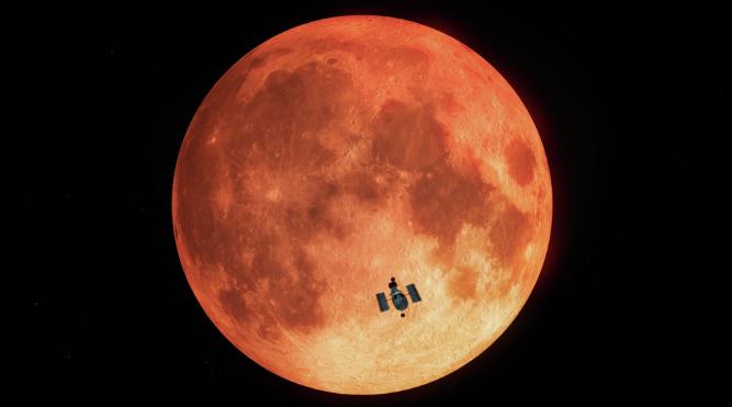 Перевод - recovery mode  Используя Луну в качестве зеркала, ученые подтвердили, что Земля обитаема