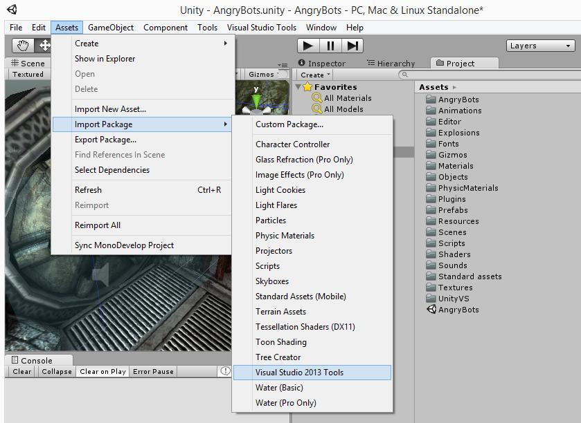 Вышла новая версия Visual Studio Tools for Unity