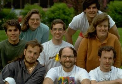 Сотрудники Leg Lab. В центре в первом ряду Марк Рэйберт