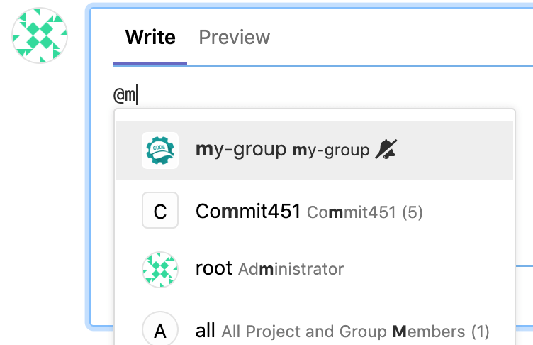 Disable group mentions