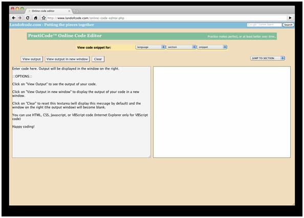 Редактор php кода онлайн