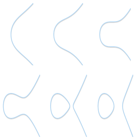 Different shapes for different elliptic curves