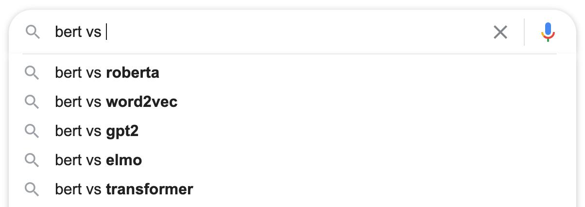 Перевод О том, что происходит, когда в поиске Google используют слово vs