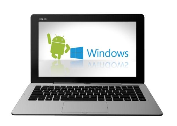 CES2014: Ноутбук-трансформер с двумя OS от ASUS