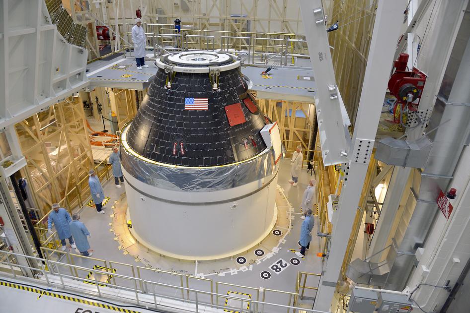 NASA завершило строительство первого модуля многоразового космического кора ...