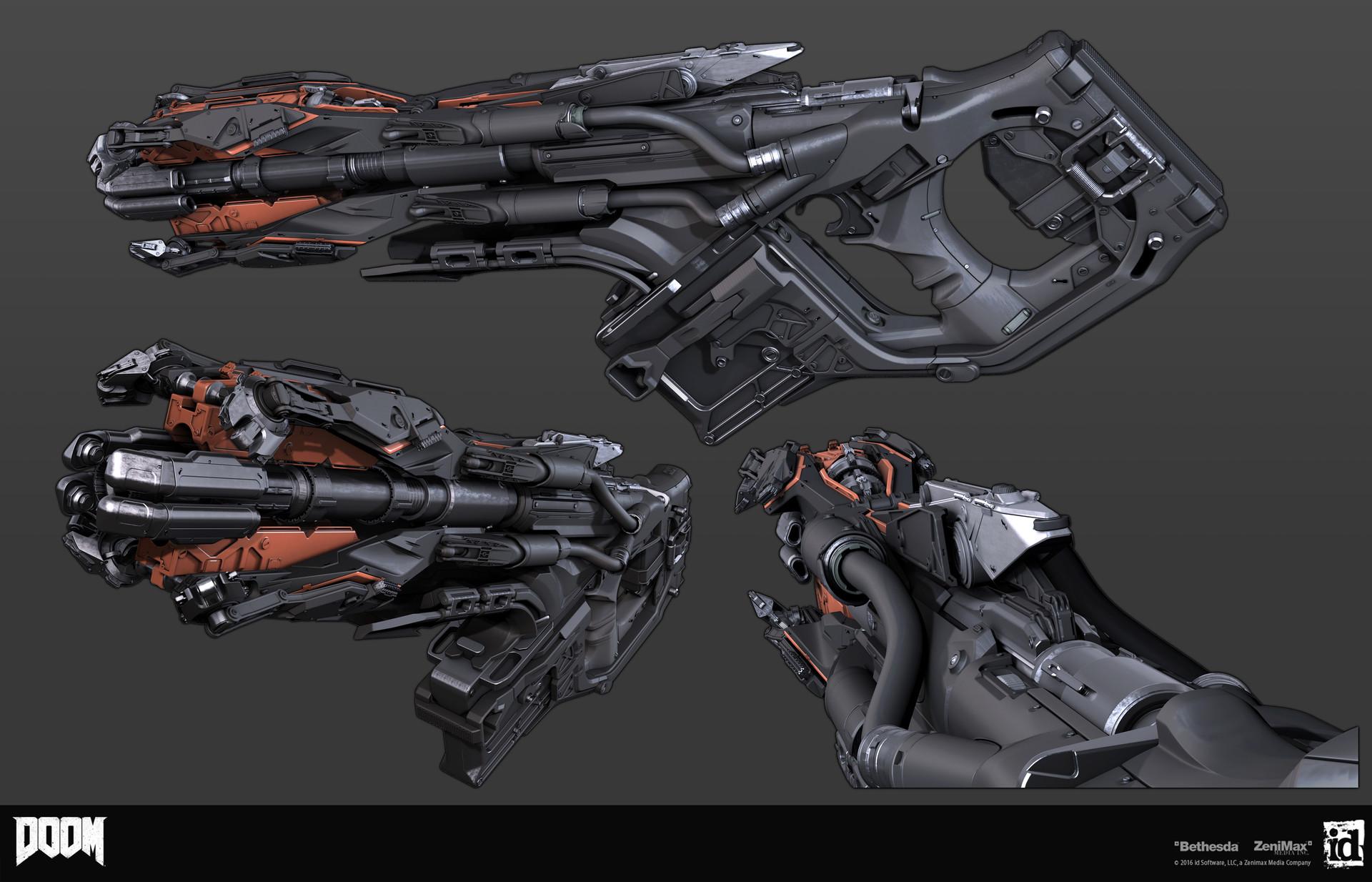Как создавались пушки для Doom