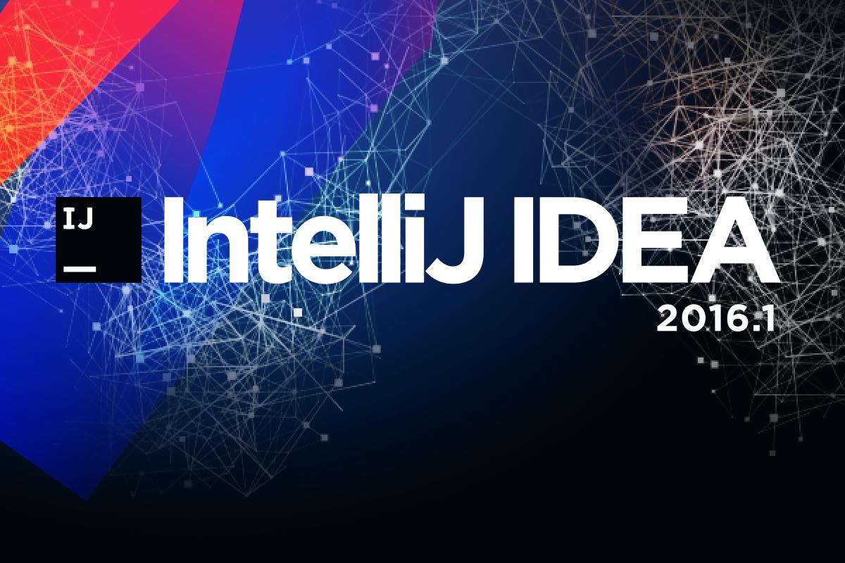Встречайте IntelliJ IDEA 2016.1